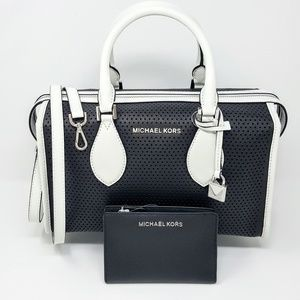 NWT Michael Kors Duffle Bag & Wallet